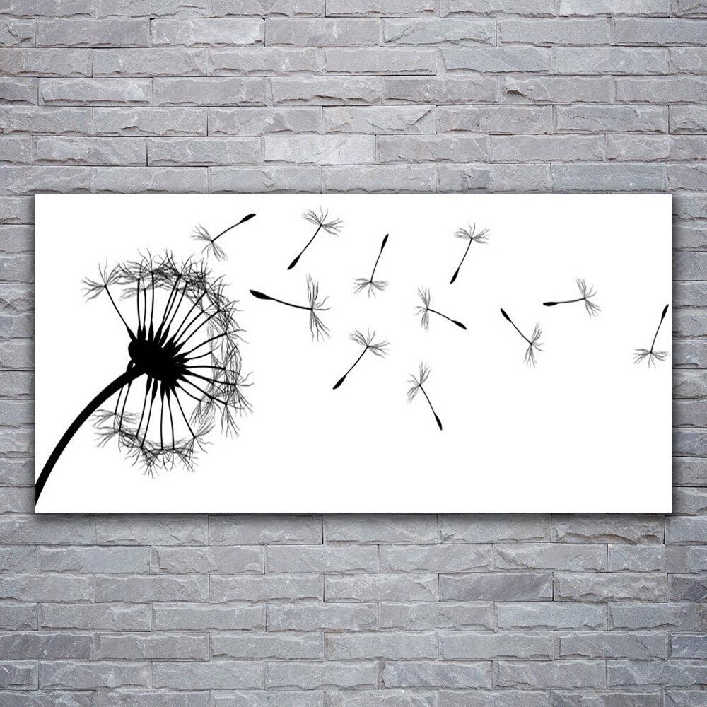 Image sur verre acrylique Tableau Impression 120x60 120x60 120x60 Floral Pissenlit c1a692