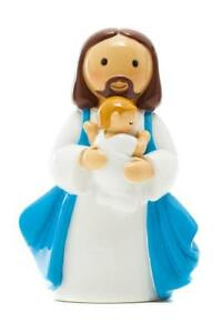 Details About Jesus With Baby Boy Baptism Figure Little Drops Of Water Statue Figure New