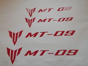 MT 09 Fairing  Stickers x4
