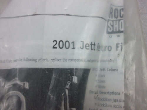 Details about  /Rock Shox 2001 JETT Retro Fit Spring Replacement Kit