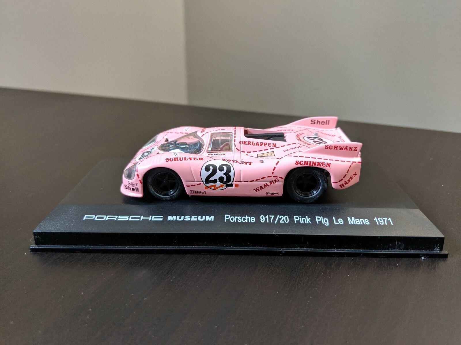 Porsche Museum Porsche 917 20 Pink Pig Le Mans 1971