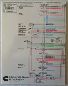 Excellent Cummins Laminated Qsm11 D M Marine Wiring Diagram Ebay Wiring Cloud Hisonuggs Outletorg