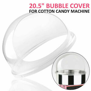 Commercial-Cotton-Candy-Machine-Cover-21-034-Clear-Floss-Maker-Bubble-Shield-Dome