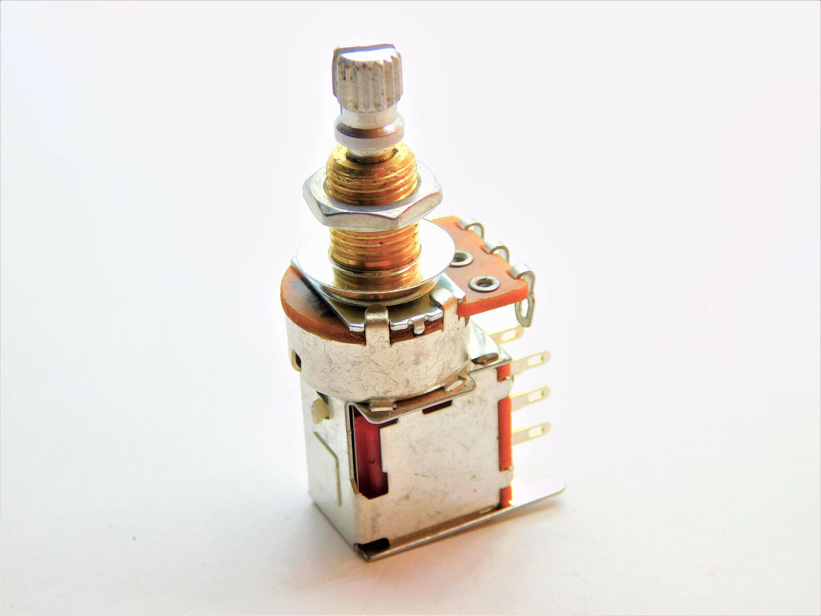 Potentiomètre Audio Pot Push Push size Split Phase 500K