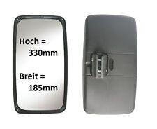 Außenspiegel Ersatz Spiegel MB W-Mobil Iveco VW LT Pritsche 330x185mm ø16-26mm