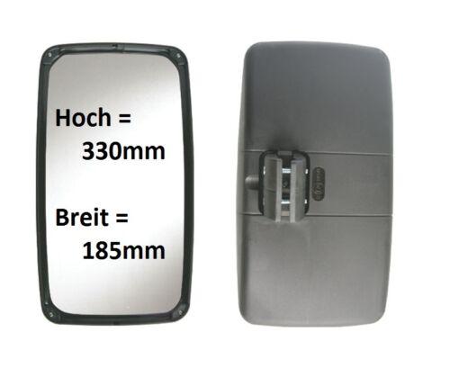 Repuesto exterior espejo W-mobil Iveco VW LT camastro 330x185mm ø16-26mm bhzt