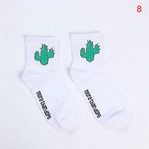 Women Socks Fun Socks Cartoon Print Cotton Socks Lovely Cute Casual Fashion ZY