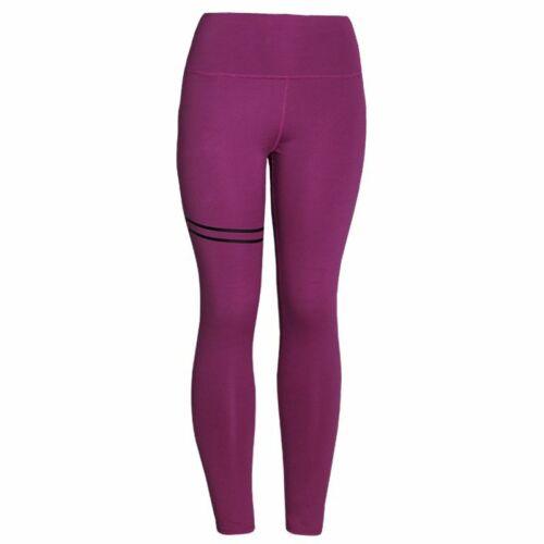 Leggings Push Up Workout Female Pants High Waist Gold Print