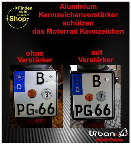 12-teiliges Schraubenset M5x20mm Kennzeichenbefestigung Motorrad Nummernschild