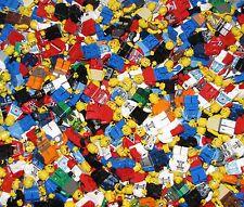 LEGO LOT OF 100 LEGO MINIFIGURES TOWN CITY CASTLE NINJAGO MORE GRAB BAG