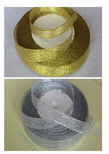 New 25 Yards Beautiful Glitter Ribbons Bling for Bows and decorated DIY 10-50mm