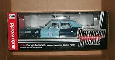 1/18 Massachusetts State Police Car - 1974 Dodge Monaco Pursuit Model AMM1023