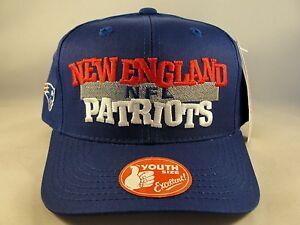 Kids Youth Size NFL New England Patriots Vintage Snapback Hat Cap  0d76ce34d6c5