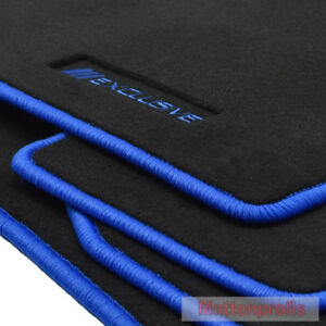 Mattenprofis Exclusiv Fußmatten für Mercedes CLK Coupe C208 W208 Bj.1997-2002 bl