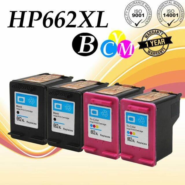 Ink Cartridges Black /& Color For HP 662XL Deskjet 2546 2645 2646 3515 3516 3545
