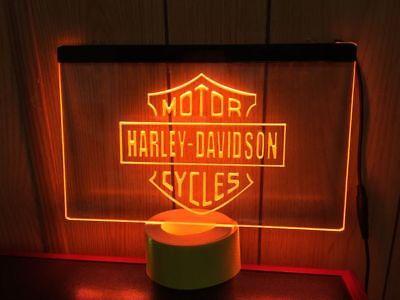 Motor harley davidson cycles led Neonzeichen Leuchtschild Leuchte Lampe Light