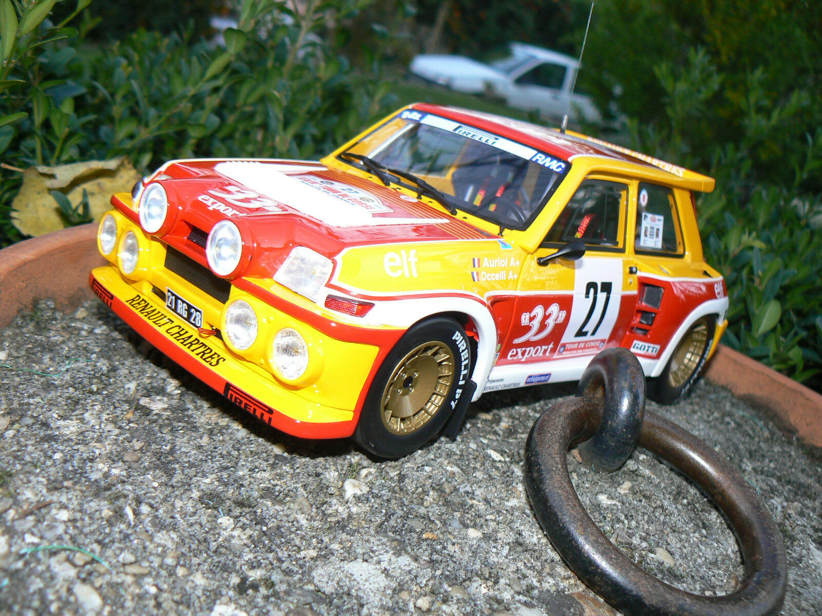renault 5 r5 maxi maxi maxi turbo 33 export auriol 1/18 otto ottomobile ottomodels boxed | Durable Dans L'utilisation