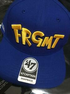 FRAGMENT-amp-POKEMON-Thunderbolt-Project-Baseball-Cap-Blue-Ginza-Exclusive-New