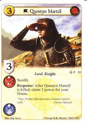 1st Edition LCG Doran Martell Alt Art A Game Of Thrones