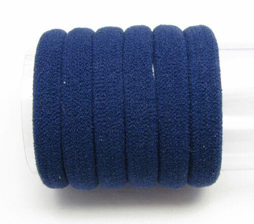 10pcs 4cm Hair Soft Elastic Bobbles Ponios Bands Endless Snag Free Eco Quality