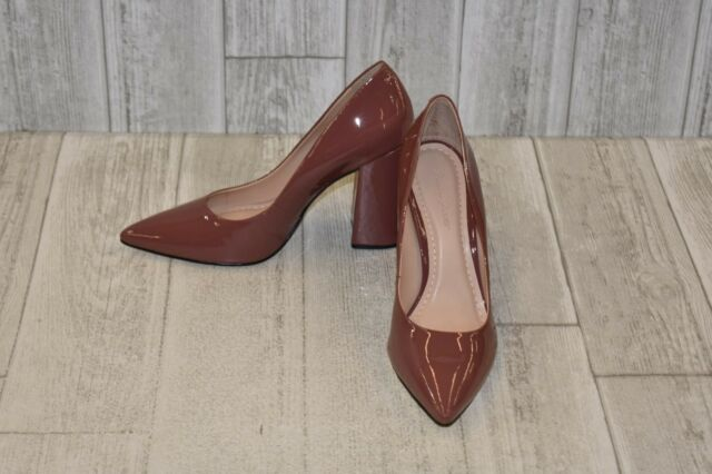 73f8fff5a54 Frequently bought together. Massimo Matteo 138501 Block Heeled Pumps-Women s  size 6 M Dusty Rose