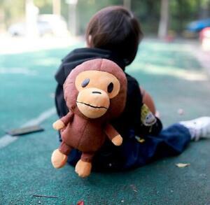 Fashion Kids Baby Milo Boy Girls Little Monkey Shoulder Bag Backpack School Bag