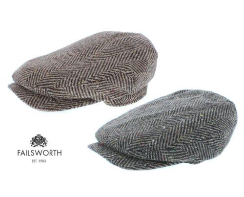 Failsworth Donegal Windsor Magee Irish Tweed Lana Berretto Piatto