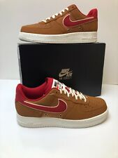 new concept e69ff 56fca item 4 Nike Air Force 1 AF1 Low TAWNY BROWN BASKETBALL LEATHER RED  718152-206 sz 11.5 -Nike Air Force 1 AF1 Low TAWNY BROWN BASKETBALL LEATHER  RED ...