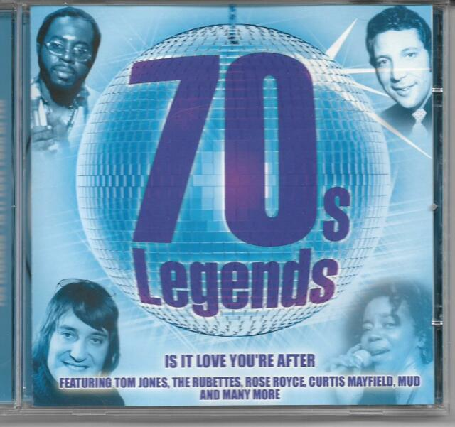 70s Legends: IS IT LOVE YOU'RE AFTER (CD)