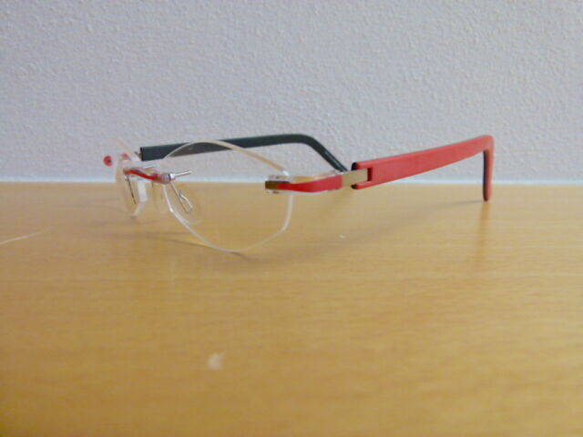 Orig. switch it randlose Brille Combi 765 m. Montagekit, neu, made in Germany,