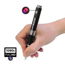 Full HD 1080p Cámara oculta espía bolígrafo video Foto De Grabación Dvr Seguridad Cam UK