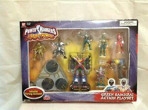 Power Rangers Ninja Storm Vert Jeu d'action Samurai - Tout neuf 45557912130