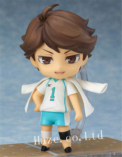 Oikawa Tooru Nendoroid PVC Figure 10cm Spielzeug Gift Anime Haikyuu!