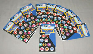 1988-89-Lot-of-10-Official-NHL-Esso-Hockey-Schedules