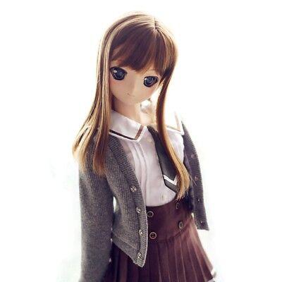 251#brown Sailor Dress//suit//equipment 1//3 SD DOD AOD LUTS BJD Dollfie PF