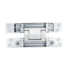 Sugatsune HES3D-120 3-Way Adjustable Invisible Concelaed Hinge Dull Chrome