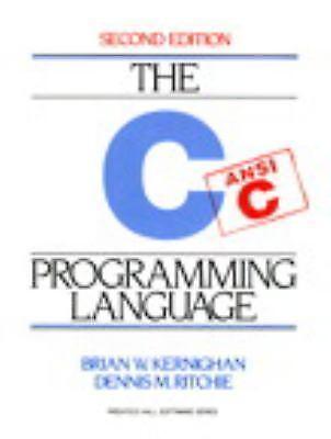 C Programming Language, 2nd Edition by Brian W. Kernighan, D