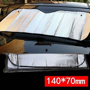 hot sale car windshield foldable front rear visor cover block window sun shade ebay. Black Bedroom Furniture Sets. Home Design Ideas