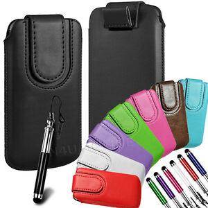 magnetico-Lengueta-Cuero-De-PU-Funda-Libro-amp-Lapiz-Tactil-para-Blackberry