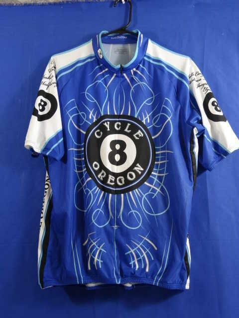 Sugoi Cycle Oregon 8 Ball Jersey Mens Size XXL 2xl