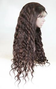 Full-Lace-Wig-Indian-Human-Hair-Remi-Remy-1B-Off-Black-Mix-Wavy-Premium-Long