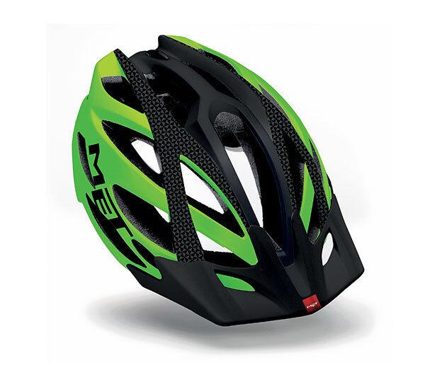Casco Bici MET KAOS Mod. UL green black  MATE HELMET Met kaos GREEN black Mate  new exclusive high-end