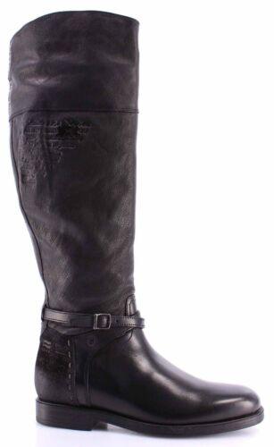L9110239 Stivali La New Lusso Pelle Scarpe Cuero Donna Nero Custer Martina wAaWZqxFI