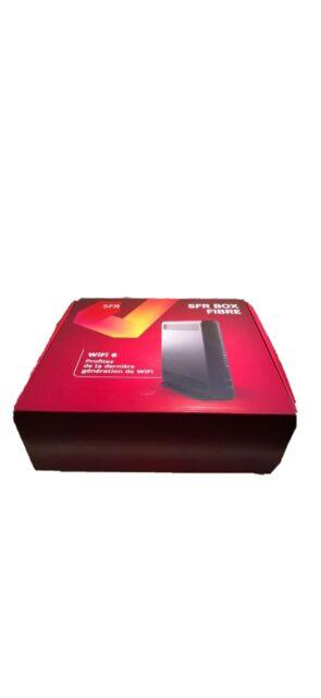 SFR BOX FIBRE MODEM SFR NB8 BOX 8  ( MODÈLE 2019 )