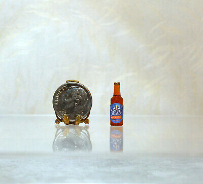Dollhouse Miniature Handcrafted Brewmaster Beer Can