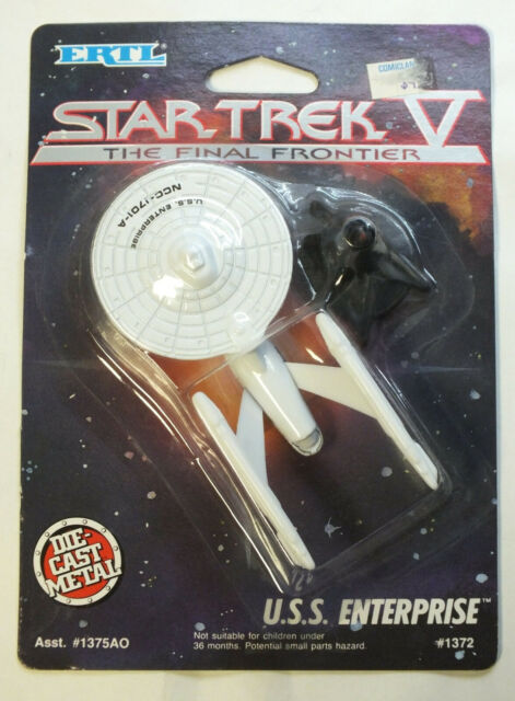Star Trek USS Enterprise 1989 Final Frontier NCC-1701-A Diecast Metal - BK702