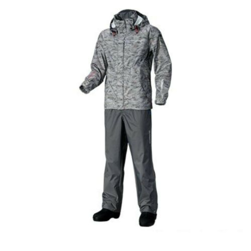 SHIMANO DS Basic Suit RA-027Q Gray Pacific Camo L New Japan Fast Shipping EMS