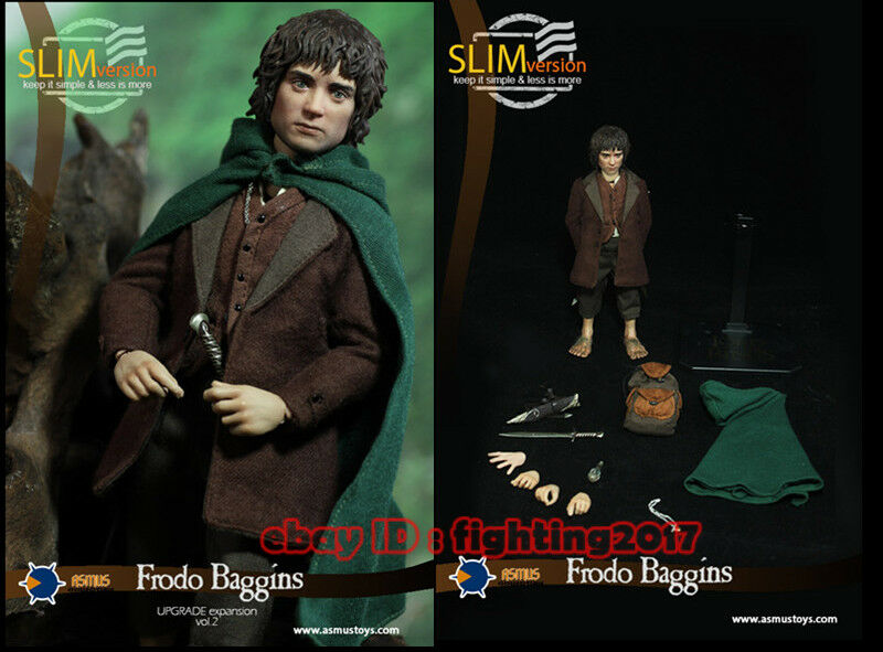 1 6 Asmus Toys LOTR014S Frodo Baggins The Lord of the Rings Figure New