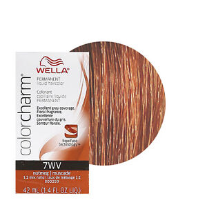Image Is Loading Wella Color Charm Permament Liquid Hair 42ml