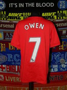 eb3062269 4.5 5 Manchester United  7 Owen boys 12 13 years 152 158cm football ...